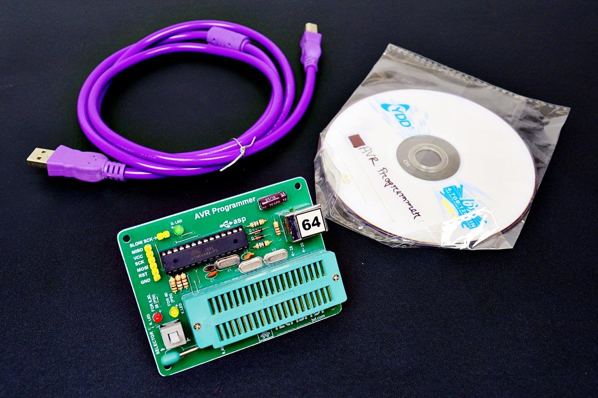 Avr Programmer Tech Bazar Atmel Chip8051 Programmeratmel Circuitatmel Homeburners Programmersavravr 278